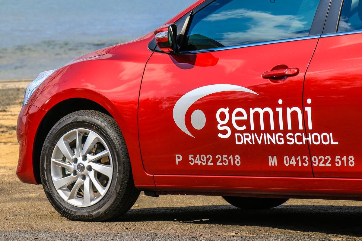 Gemini Driving School Car