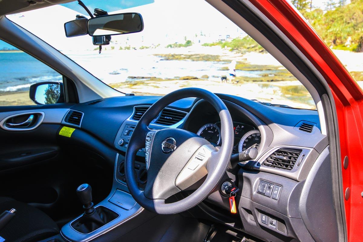 Gemini Driving School Car Interior